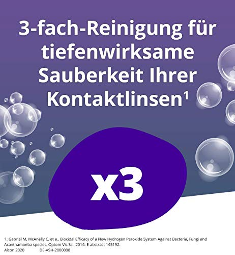 Aosept Plus Kontaktlinsen-Pflegemittel, Vorratspackung, 2 x 360 ml - 5