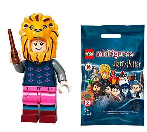 LEGO 71028 Harry Potter Series 2 - Luna Lovegood with Lion Costume Headdress