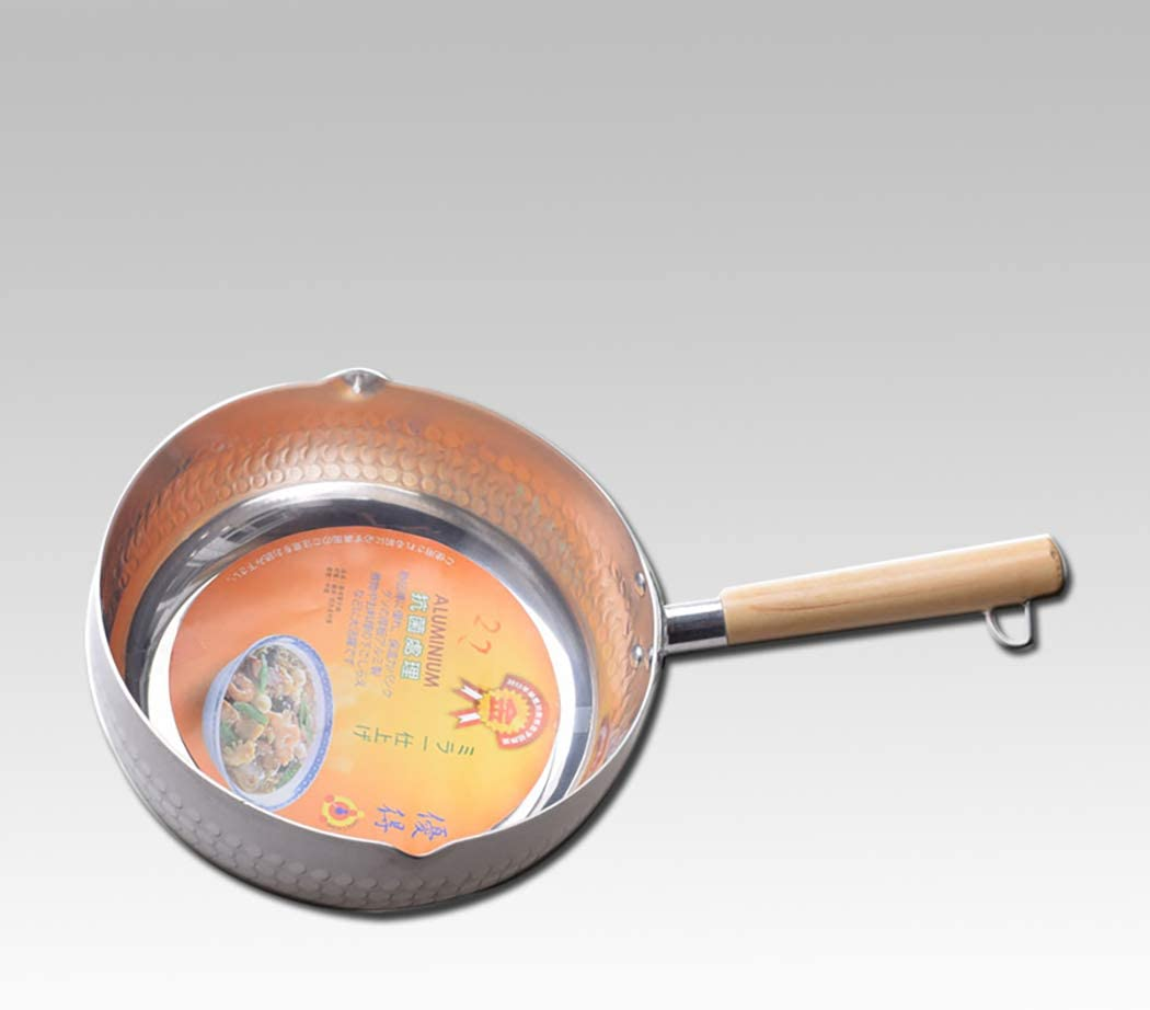 22CM Single Deluxe Bottom Silver Japanese Snow Small Frying Pan Sales of SALE items from new works milk bo