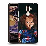 Head Case Designs sous Licence Officielle Child's Play Poupée II Art Clé Coque Noir en Gel Doux...