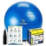 ProBody Pilates Exercise Ball, 65cm Dia - Blue