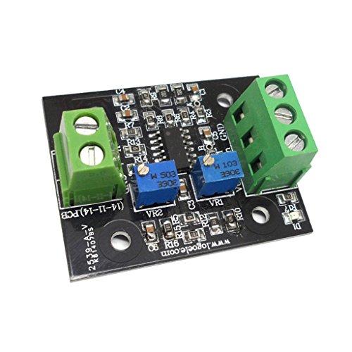 Almencla Strom Spannungs Wandler Sensorplatine 4 20 MA Bis 0 3,3 V 0 5 V 0 10 V 0 15 V - als Bild zeigen 4-20mA zu 0-10V