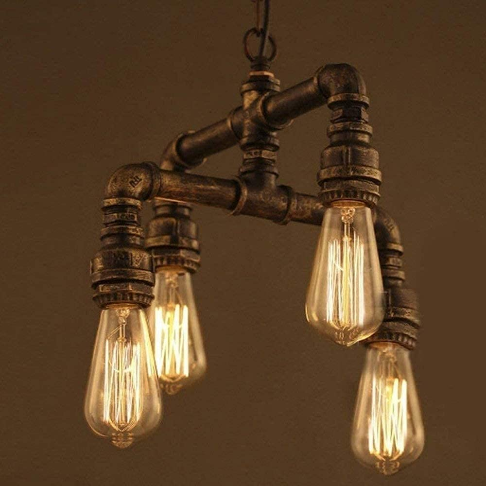 ZRABCD Lamp Pendant Light Chandelier Ceiling Retro In Punk Free Sale special price shipping anywhere in the nation