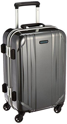 [ワールドトラベラー] スーツケース サグレス ストッパー付 機内持ち込み可 31L 48 cm 3.5kg ブラックカーボン