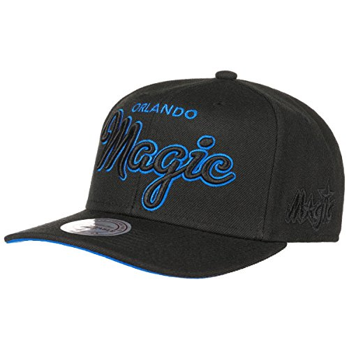 Mitchell & Ness - Casquette Snapback Homme Orlando Magic Blackout Script