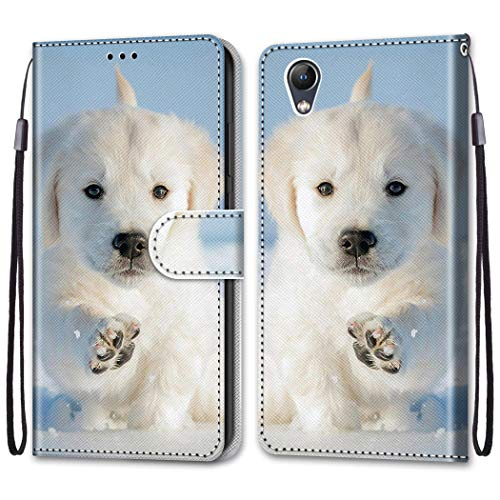 Laybomo Cover for Lenovo Vibe S1 Case, Leather Flip Wallet Magnetic Closure Full Protection Design with [Card Slots] and [Kickstand] for Lenovo Vibe S1 Phone Case, Painted 2