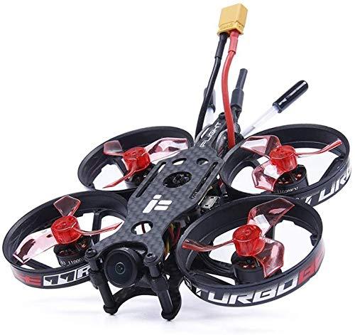 Toys i-Flight Turbo-Bee 77R 7 mm 2-3S FPV Whoop con Torre SucceX Micro 16x16/Caddx.us Turbo Eos2 cámara/1103 10000KV motor para FPV RC con FUTABA AC900, nombre del color: con Fr-sky Xm+ JXNB