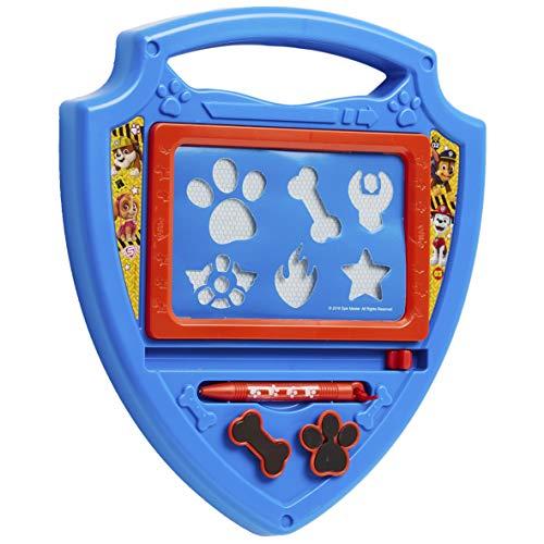 PAW PATROL Pizarra Infantil, Pizarra Magnetica Infantil de Patrulla Canina, Pizarra Magica con Rotulador Magnetico y Sellos para Niños, Patrulla Canina Juguetes Regalos para Ninos y Ninas