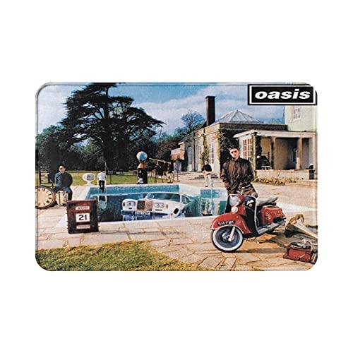 Oasis Be Here Now - Tappetino da bagno antiscivolo, ultra assorbente, 39,9 x 59,7 cm