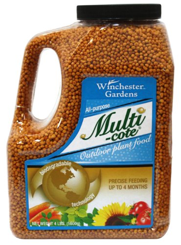 Winchester Gardens Multi-Cote All Purpose Outdoor Fertilizer, 4-Pound
