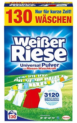 Weißer Riese Universal Pulver, 1er Pack (1 x 130 Waschladungen)