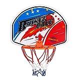 WYHM Durable Canasta de Baloncesto Tablero y Conjunto de Aros Baloncesto Interior Netball Hoop Mini Tablero de Baloncesto Niños Regalos Completo Accesorios (Color : C)