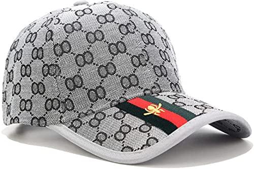 BTXX Sombrero de béisbol Deportivo de Lujo, Sombrero de Lujo de béisbol Sombrero Superior Sombrero Deportivo sombrilla satén al Aire Libre al Aire Libre (Color : Gray, Size : M)