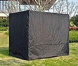 Home Deluxe - Maße: 236 x 180 x 210 cm - Abdeckung Gartenliege Provence I Pavillonabdeckung