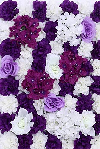 Bureze Zijde bloem muur bruiloft decoratie kunstmatige roos hortensia pioen mix winkelcentrum raamdecoratie DIY verschillende soorten