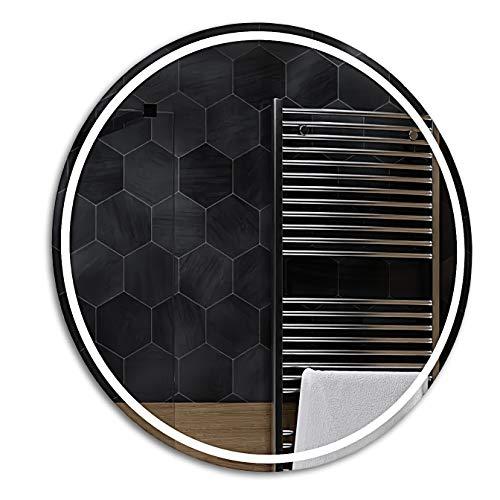 Alasta Espejo Redondo Decorativos   95 cm   London - Diferentes tamaños   Premium Espejo Fabricado a Medida
