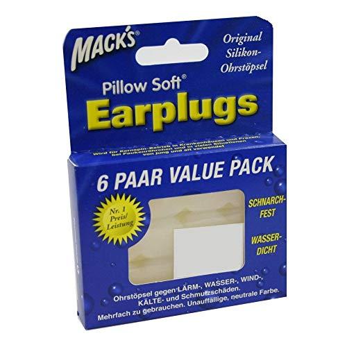 Mack's Earplugs, 6X2 St