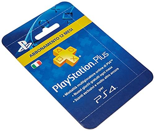 Playstation Plus Abbonamento 12 Mesi