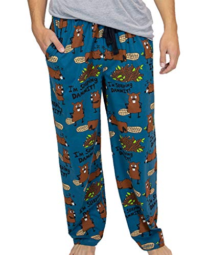 Lazy One Herrenpyjamahose I'm Sleeping Dammit!, Größe XL