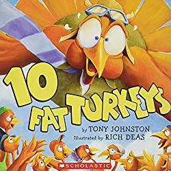 Ten Fat Turkeys Book for Children from www.daniellesplace.com