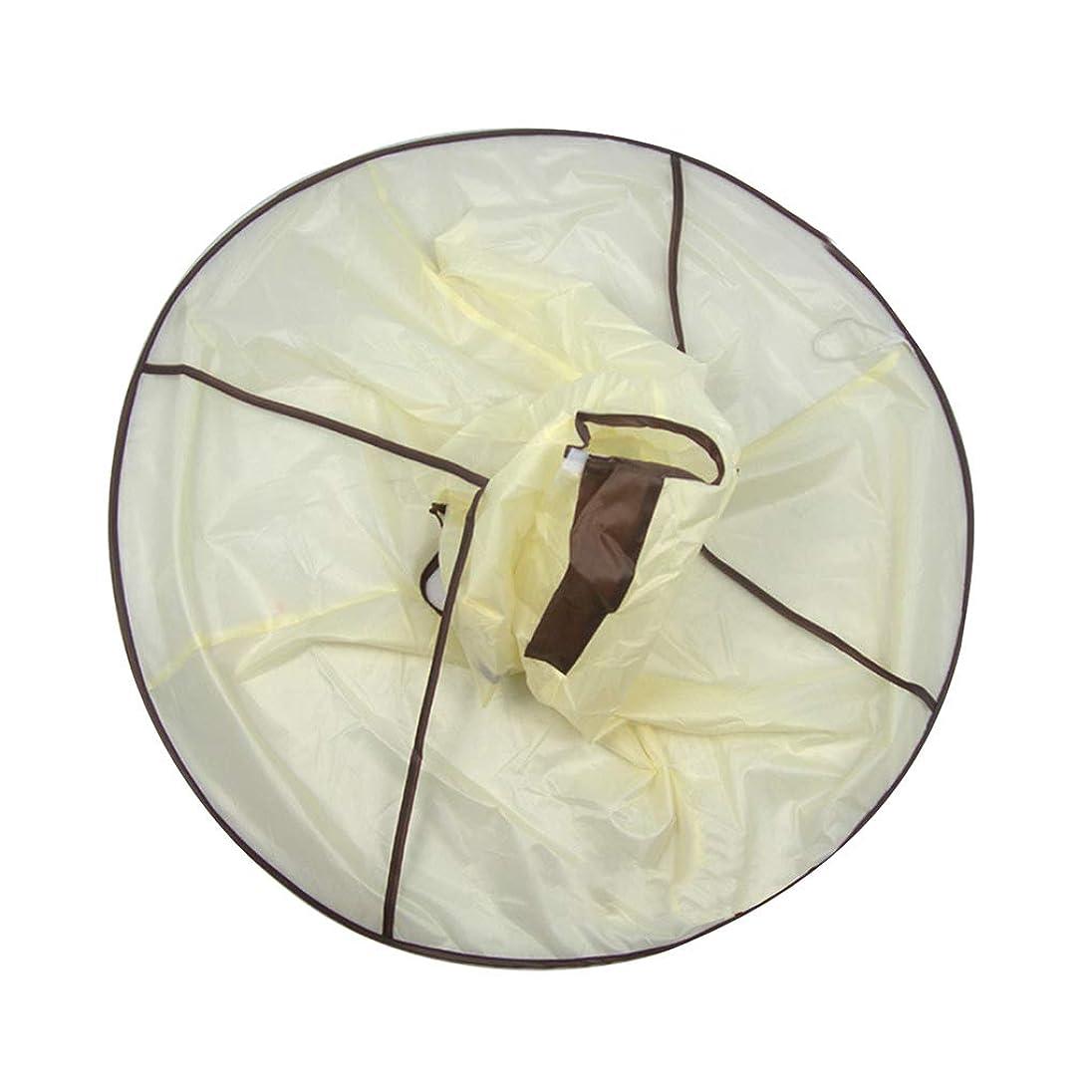 ガスウールおかしいKOROWA 散髪ケープ ヘアーエプロン 散髪マント 大人 子供 散髪用エプロン 毛染めケープ 折りたたみ式 防水 刈布 ケープ