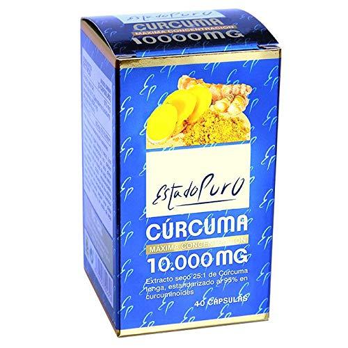 Estado Puro Cúrcuma, 10000mg, 40 cápsulas