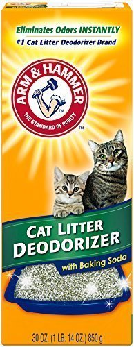 Arm & Hammer Multiple Cat Litter Deodorizer with Baking Soda (2 Pack)