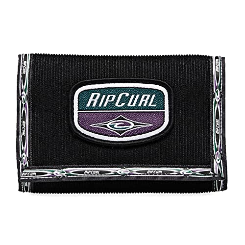 Rip Curl Surf Re-issue Mens Wallet One Size Black/purple