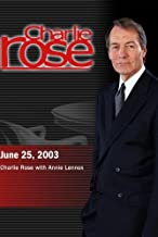 Charlie Rose with Annie Lennox (June 25, 2003)