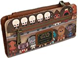 Loungefly x Star Wars Cantina Scene Bifold Wallet, Brown, One Size