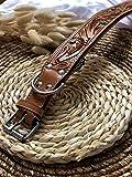 MICHUR Goldeneye, Hundehalsband, Lederhalsband - 6