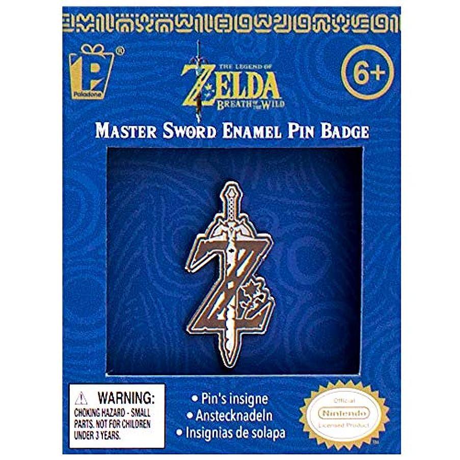 Legend of Zelda Breath of The Wild Master Sword Enamel Pin Badge