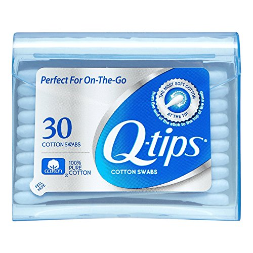 Price comparison product image Q-tips Swabs Purse Pack 30 Each (Pack of 3)