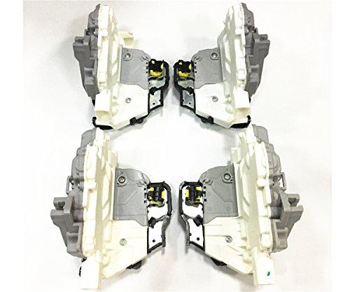 HZTWFC 4 Attacco per blocco serratura anteriore e posteriore OEM # 4F1837015G 4F1837016G 4F0839016 4F0839015