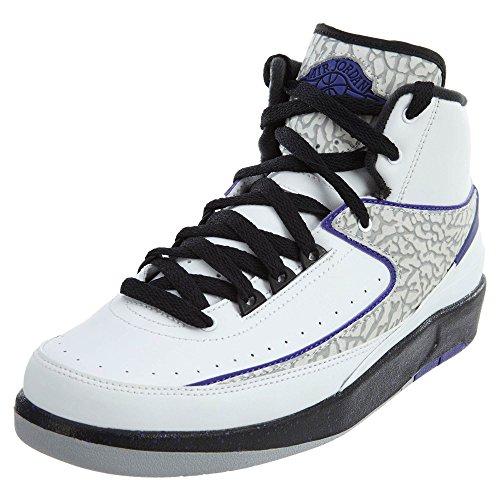 Nike Air Jordan 2 Retro Elephant Print Basketballschuhe Sneaker weiß/grau/blau/schwarz, Schuhgröße:EUR 36.5