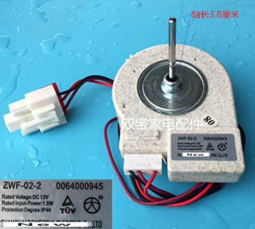 Miwaimao 1 pieza para refrigerador zer doble apertura de la puerta del ventilador del motor para ZWF-02-2 12v buen funcionamiento