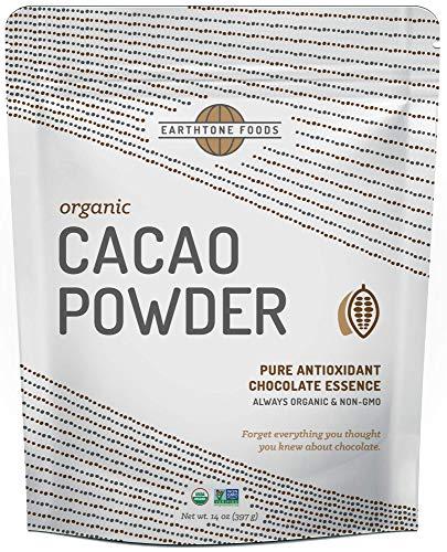 Cacao Powder Organic | Unsweetened Premium USDA & Paleo Certified Vegan Raw Antioxidant Cocoa Bean - Perfect for Hot Chocolate, 14 Ounces