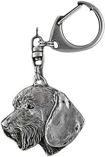 Dog clipring Shih-Tzu in Box Show Ring Clip//Number Holder Casket millesimal fineness 999 ArtDog