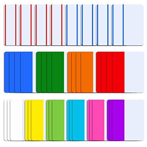 SIQUK 840 Pieces Tabs 2 inch Sticky Tabs Index Tabs Page Markers Colored Page Tabs for Reading Notes, Books and File Folders, 42 Sets 12 Colors