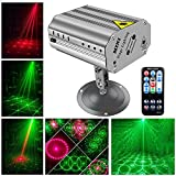 Functional DJ Lights Modes: Support Auto / Sound Activated / Single & Mixing Color / Strobe / Motor Stop, easily operate by the mini remote with full modes, the speed also can be controlled. Smart Design: Adopt high-quality aluminum alloy housing wit...