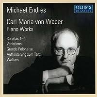 Piano Sonatas / Variations / Grande Polonaise by WEBER CARL MARIA VON (2005-02-08)