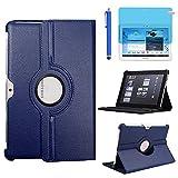 Étui Housse Coque pour Samsung Galaxy Note 10.1 Pouces 2012 (GT-N8000 N8010 N8013) - 360 degrés...