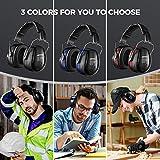 Ear Muffs Headband Mpow Sicherheit Ohrenschützer SNR 34 dB Gehörschutz - 8