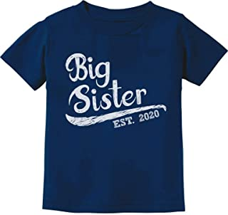 Big Sister Est 2020 - Sibling Gift Idea Infant Kids T-Shirt