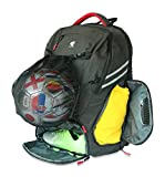 RitzKitz The Ultimate Sports Bag | Backpack for Soccer, Basketball,...