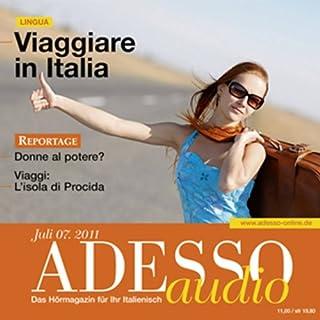 ADESSO Audio - Viaggiare in Italia. 7/2011 cover art