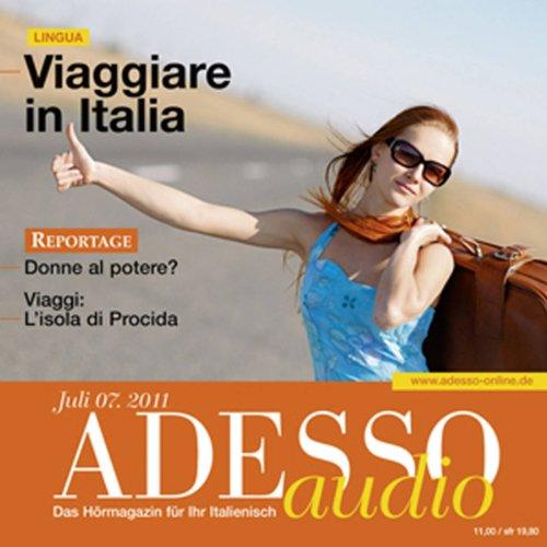 ADESSO Audio - Viaggiare in Italia. 7/2011 Titelbild