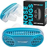 Anti snoring Devices - Nose Vents Plugs [Upgrade 2020] - Stop Snore Mute Nasal Dilators Sleep Аid Clip Device Solution for Comfortable Good Sleep Man and Women