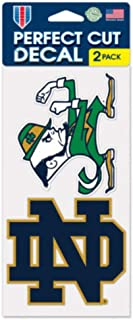 WinCraft NCAA Notre Dame Perfect Cut Decal (Set of 2), 4
