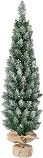スノースリムラップツリー クリスマス 雪化粧 H90×W30cm